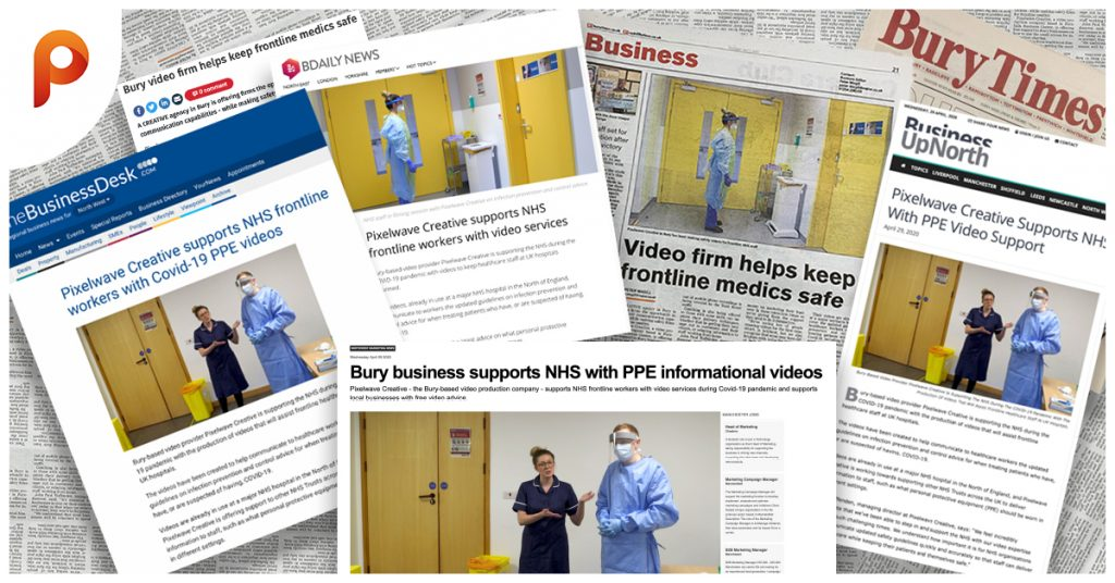 Pixelwave makes local Bury headlines