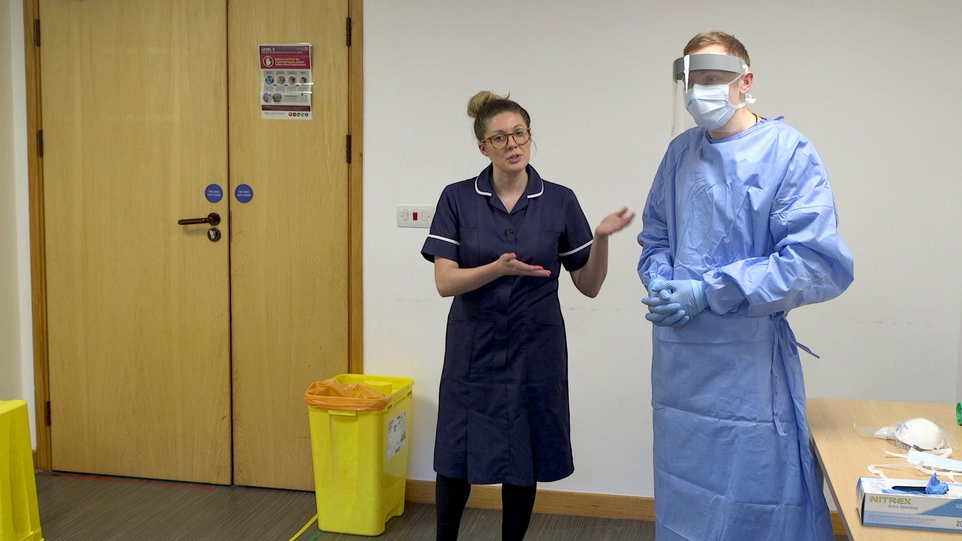 PPE Pixelwave NHS Video