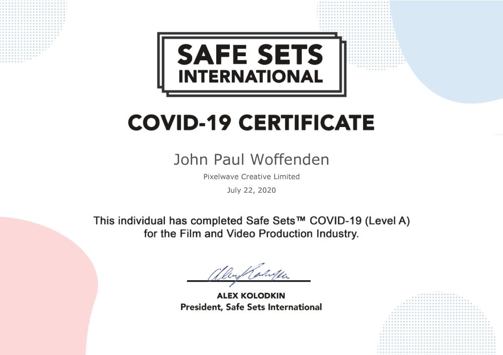 Safe Sets Covid-19